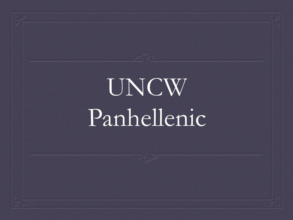 UNCW Panhellenic