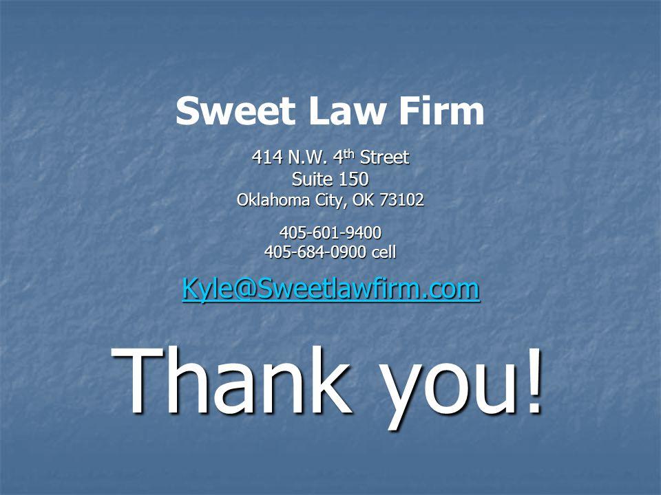 Sweet Law Firm 414 N.W.