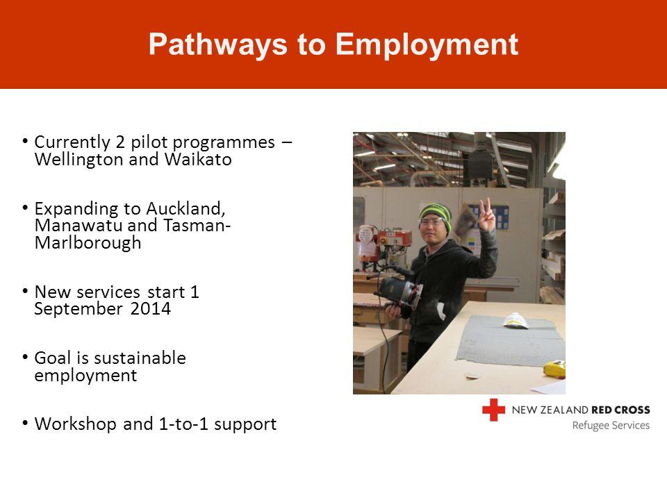 Currently 2 pilot programmes – Wellington and Waikato Expanding to Auckland, Manawatu and Tasman- Marlborough New services start 1 September 2014 Goal