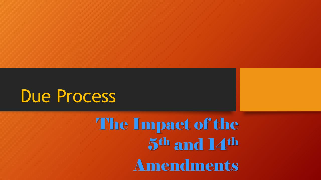 What is due process.Due Process Clause is a clause in the U.S.