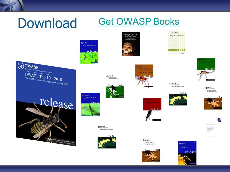 Download Get OWASP Books