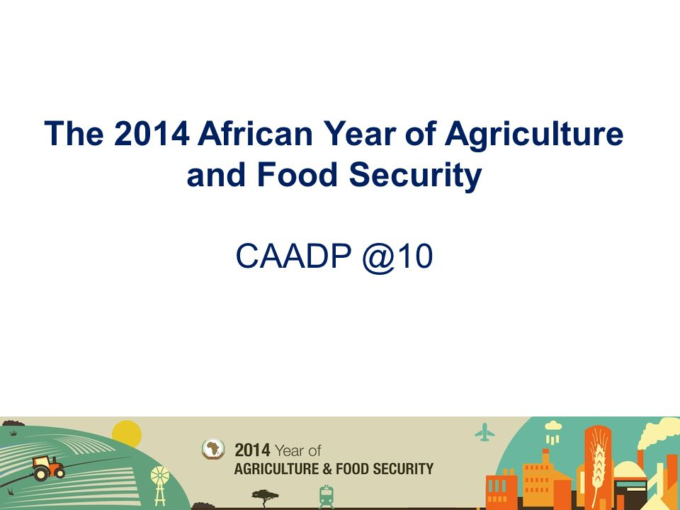 Africa is the most food insecure continent with a quarter of its population categorized as undernourished Africa is among the fastest growing regions in the world – agriculture also growing The Outlook: Africa is at the center of the 'Mega' Global Trends agenda: demography, urbanisation, technology, climate change, etc.