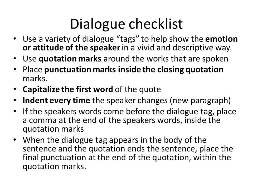 Practice With your partner write your own dialogue.