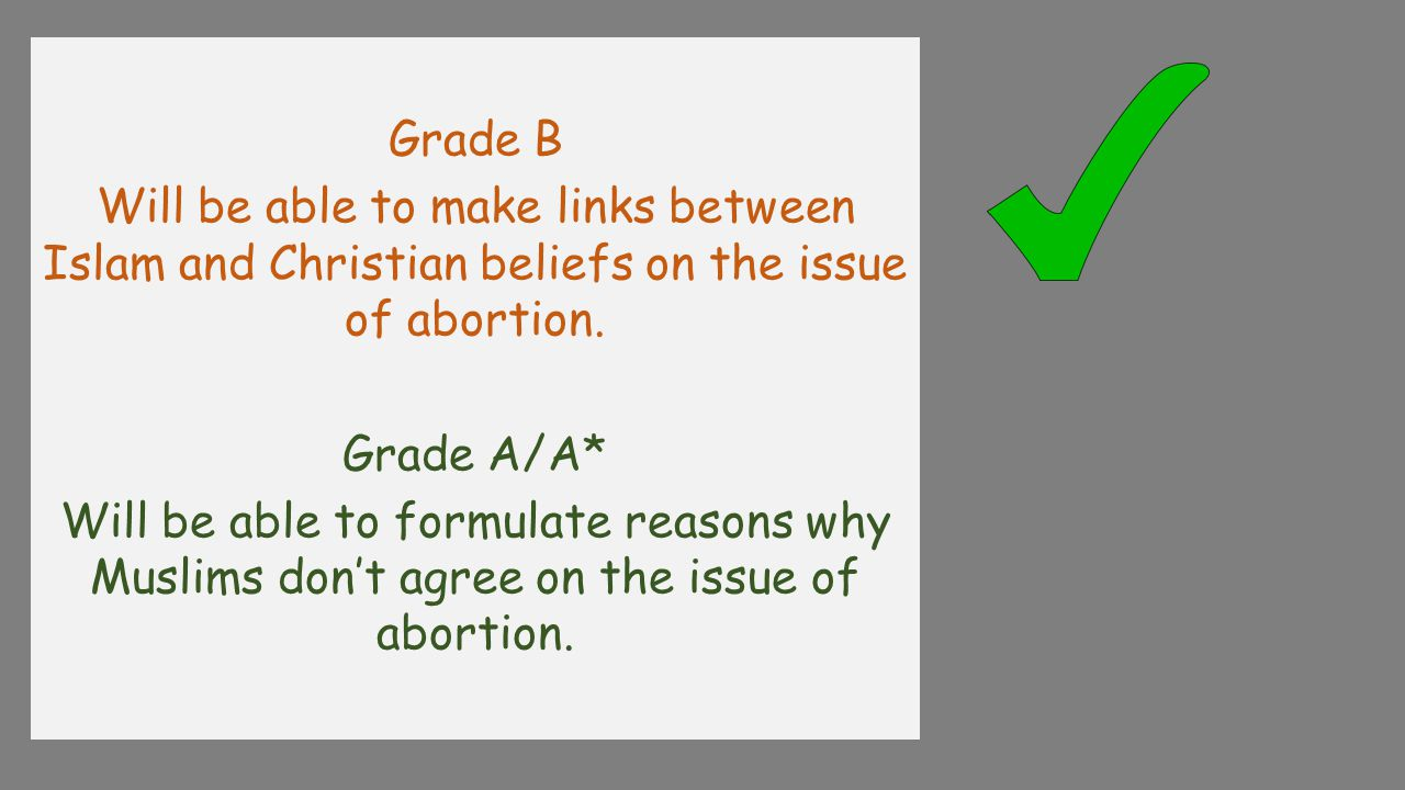 P19 'Explain why some followers of one religion other than Christianity do not agree with abortion' 8Marks.