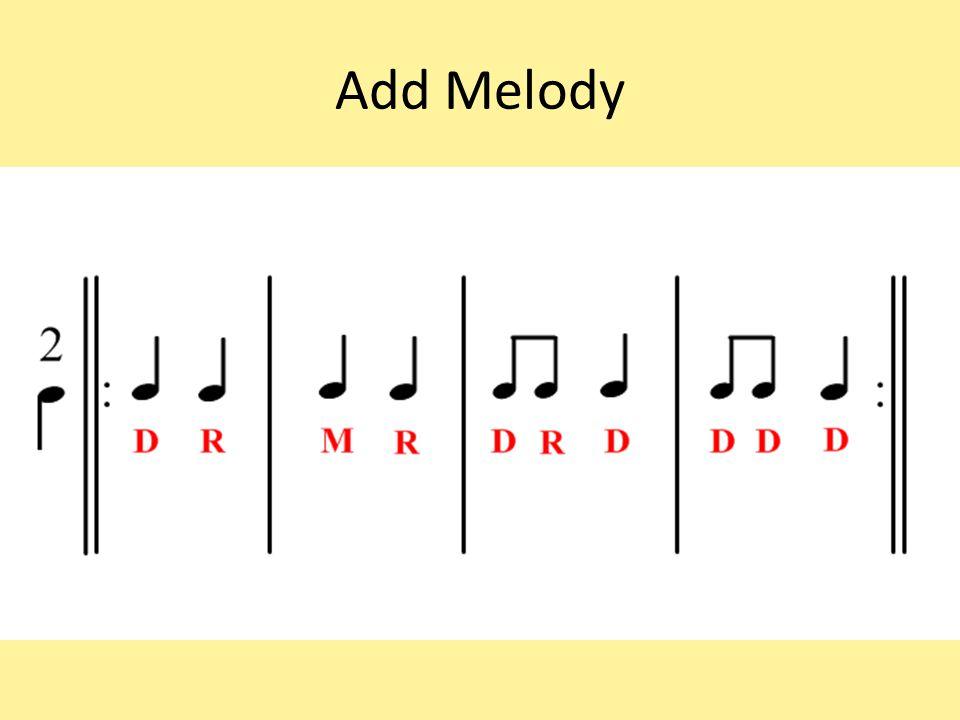 Add Melody