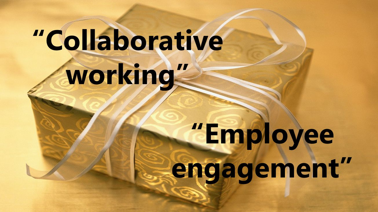 "4 ""Collaborative working"" ""Employee engagement"""