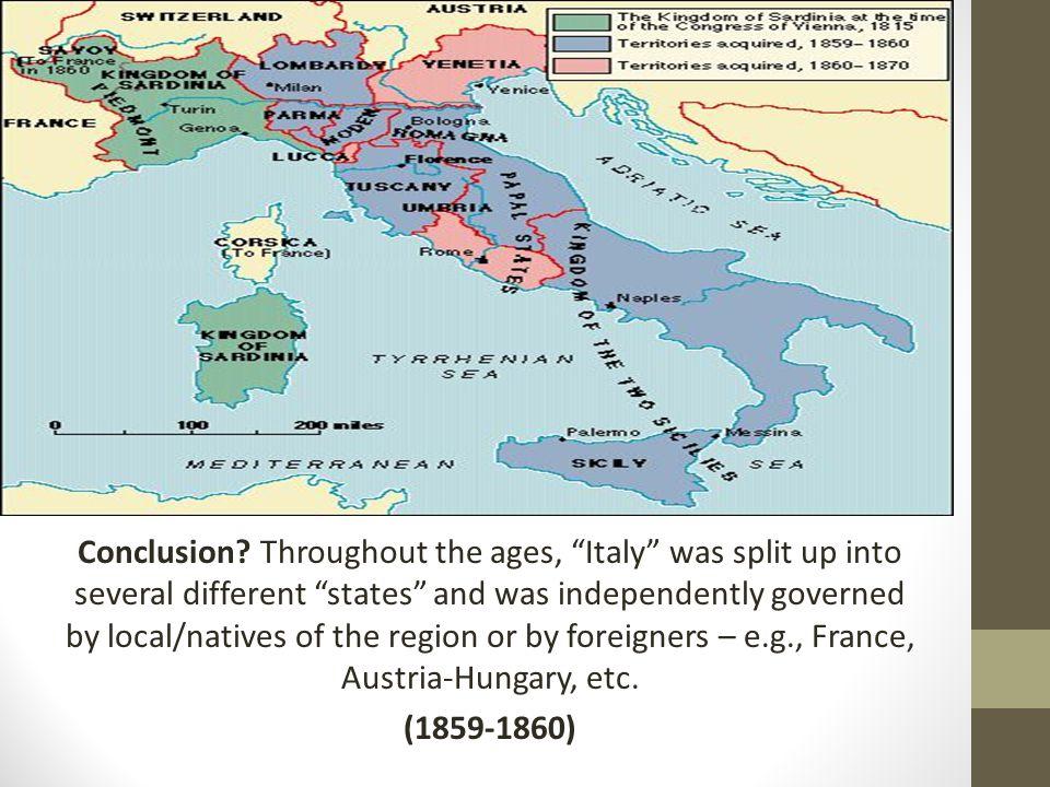 Congress of Vienna (1815): reorganized provinces