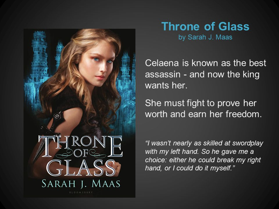 Throne of Glass by Sarah J.