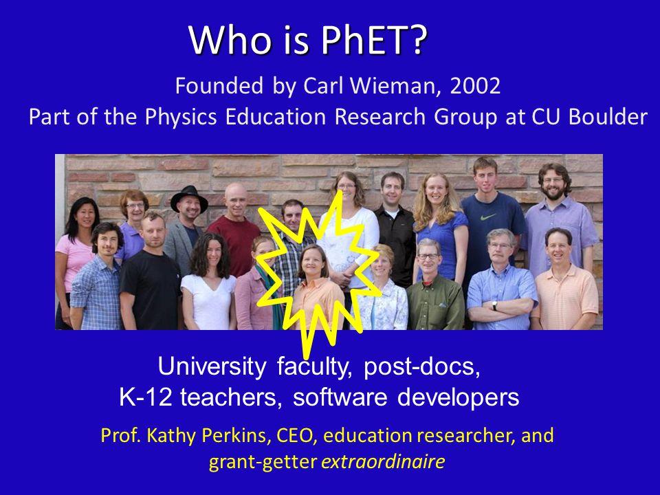 Who is PhET.