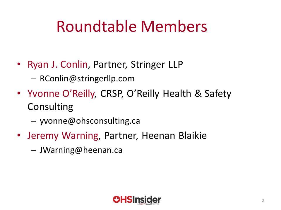 Roundtable Members Ryan J.
