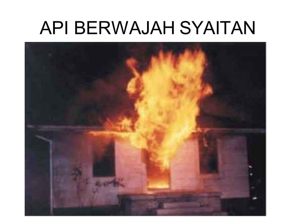 API BERWAJAH SYAITAN