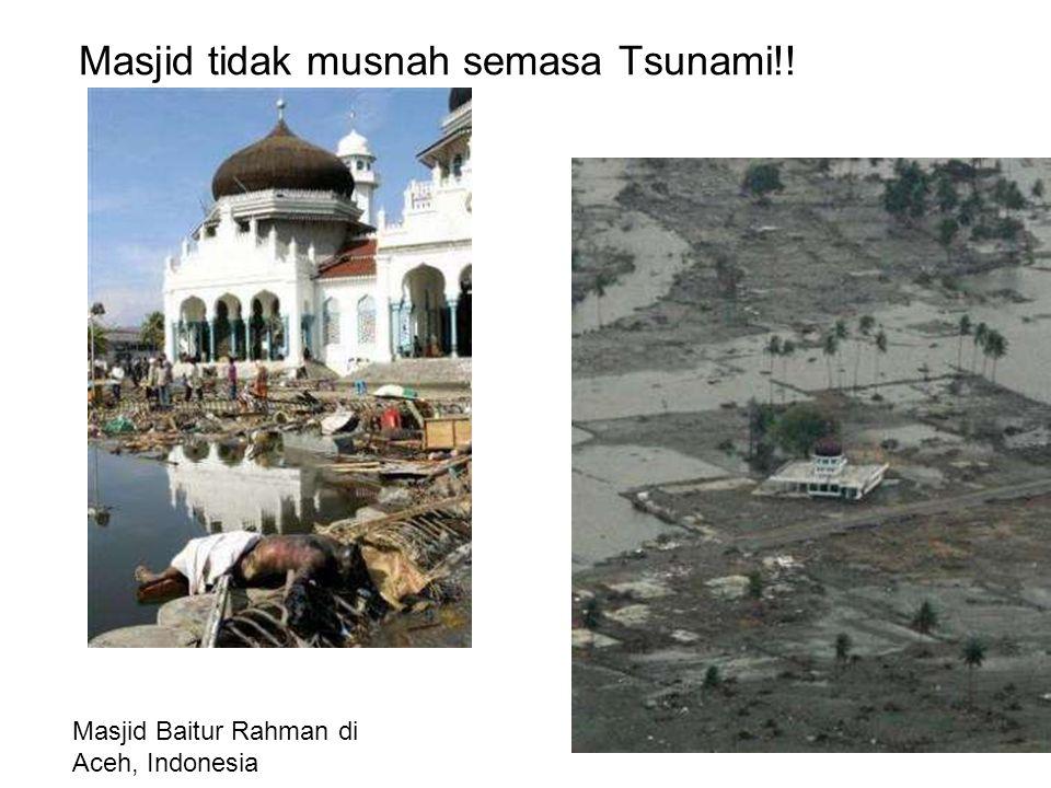 Masjid tidak musnah semasa Tsunami!! Masjid Baitur Rahman di Aceh, Indonesia