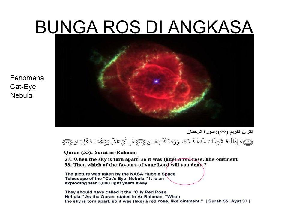 BUNGA ROS DI ANGKASA Fenomena Cat-Eye Nebula