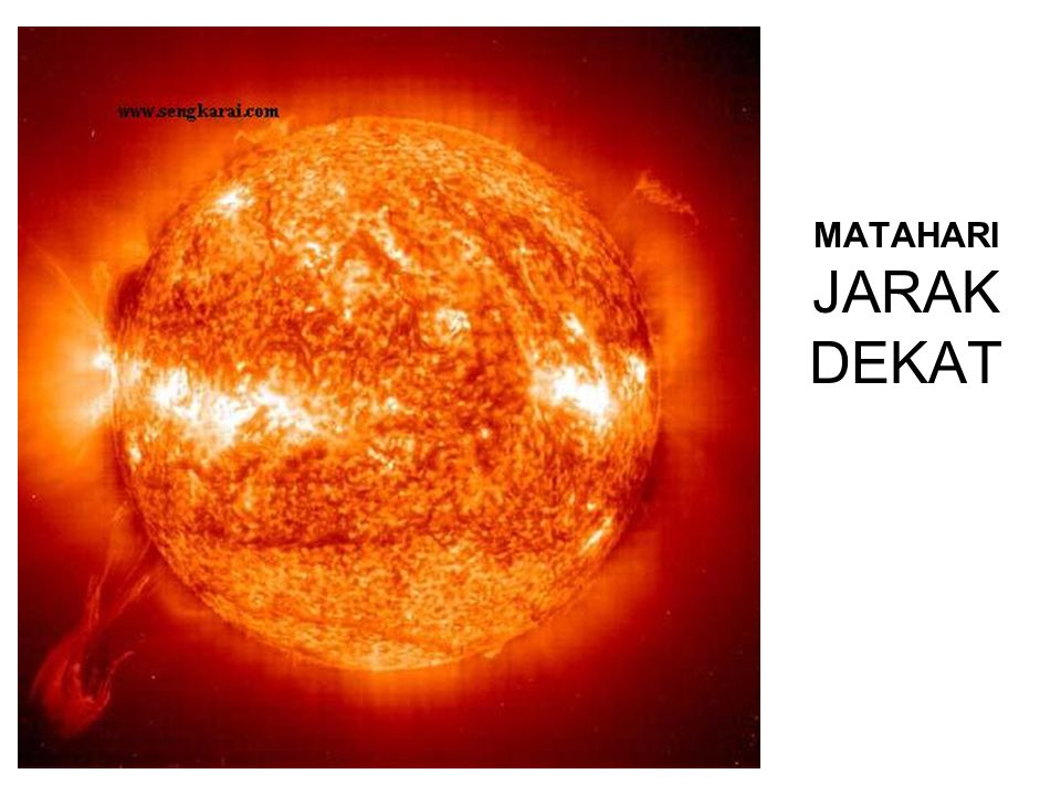 MATAHARI JARAK DEKAT