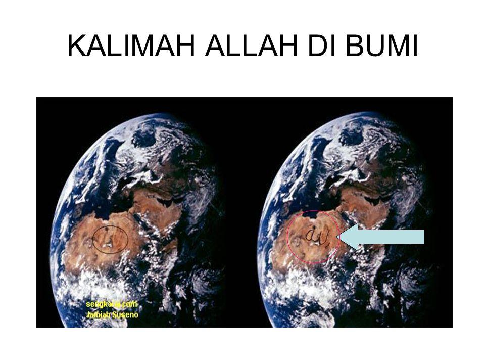 KALIMAH ALLAH DI BUMI