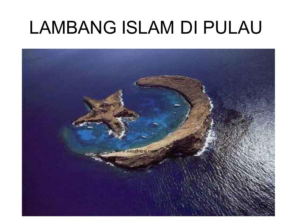 LAMBANG ISLAM DI PULAU