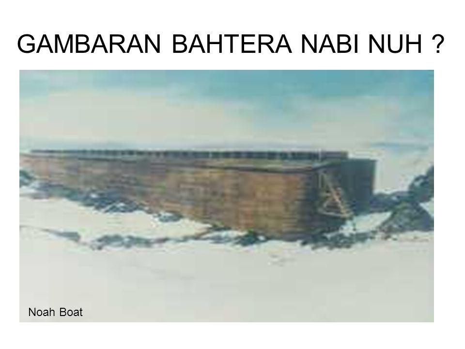 GAMBARAN BAHTERA NABI NUH Noah Boat