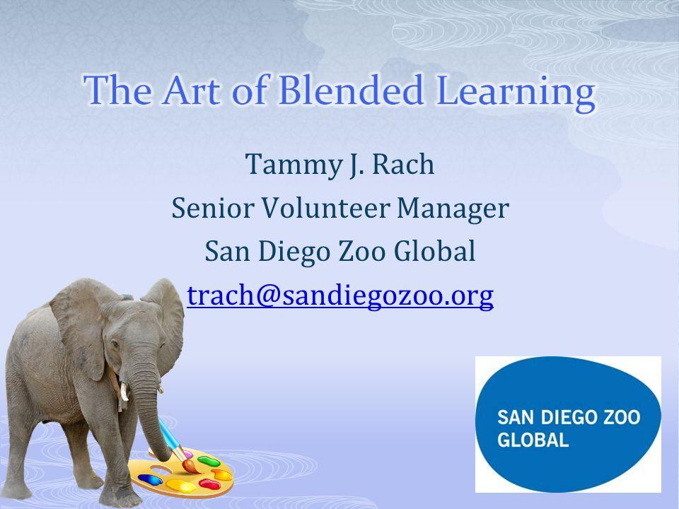 Tammy J. Rach Senior Volunteer Manager San Diego Zoo Global trach@sandiegozoo.org