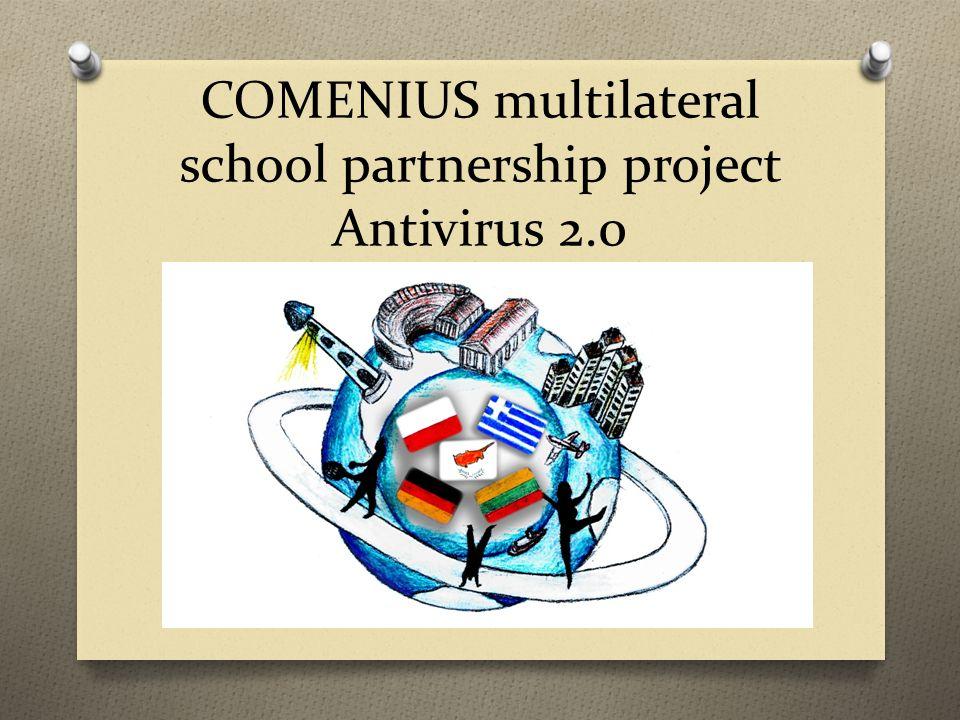 COMENIUS multilateral school partnership project Antivirus 2.0
