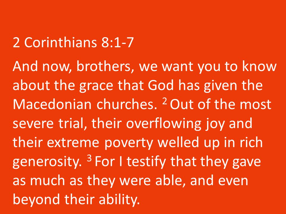 Chapter 11 4 For if someone comes to you and preaches a Jesus other than the Jesus we preached, or if you receive a different spirit from the one you received, or a different gospel from the one you accepted, you put up with it easily enough.