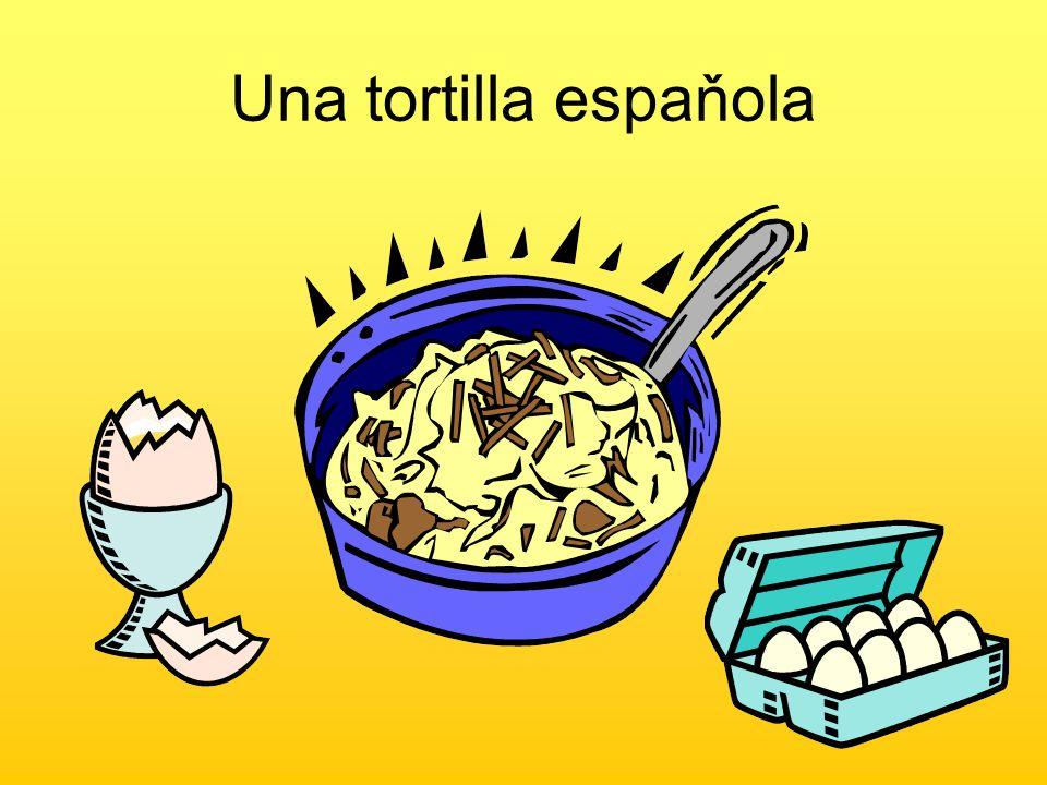 Una tortilla espaňola