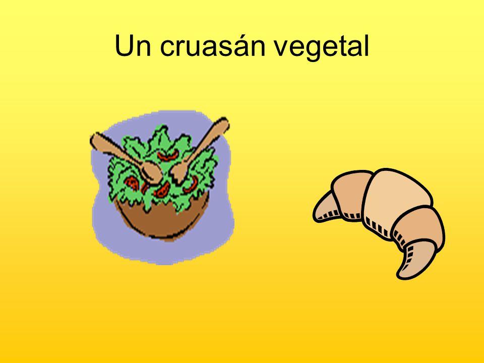 Un cruasán vegetal