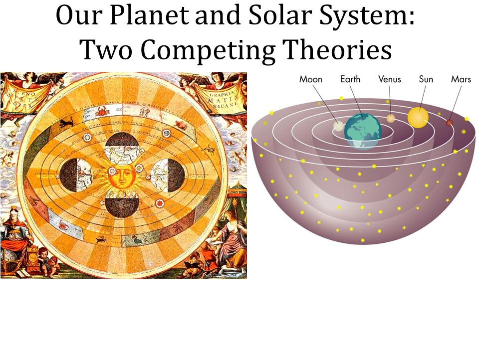 Our Planet and Solar System: Two Competing Theories