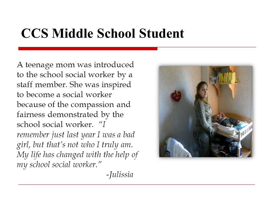 Organizational Chart CCS School Social Work