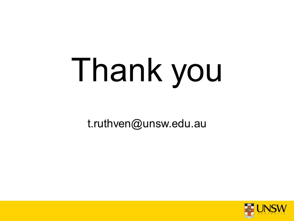 Thank you t.ruthven@unsw.edu.au