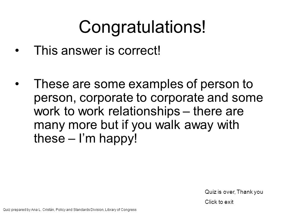 Congratulations. This answer is correct.