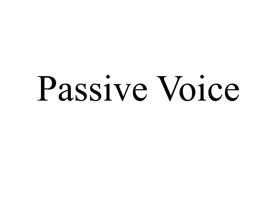 Write sentences from the words in brackets using passive voice – present 1.
