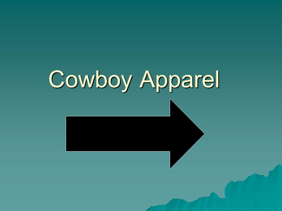 Cowboy Apparel