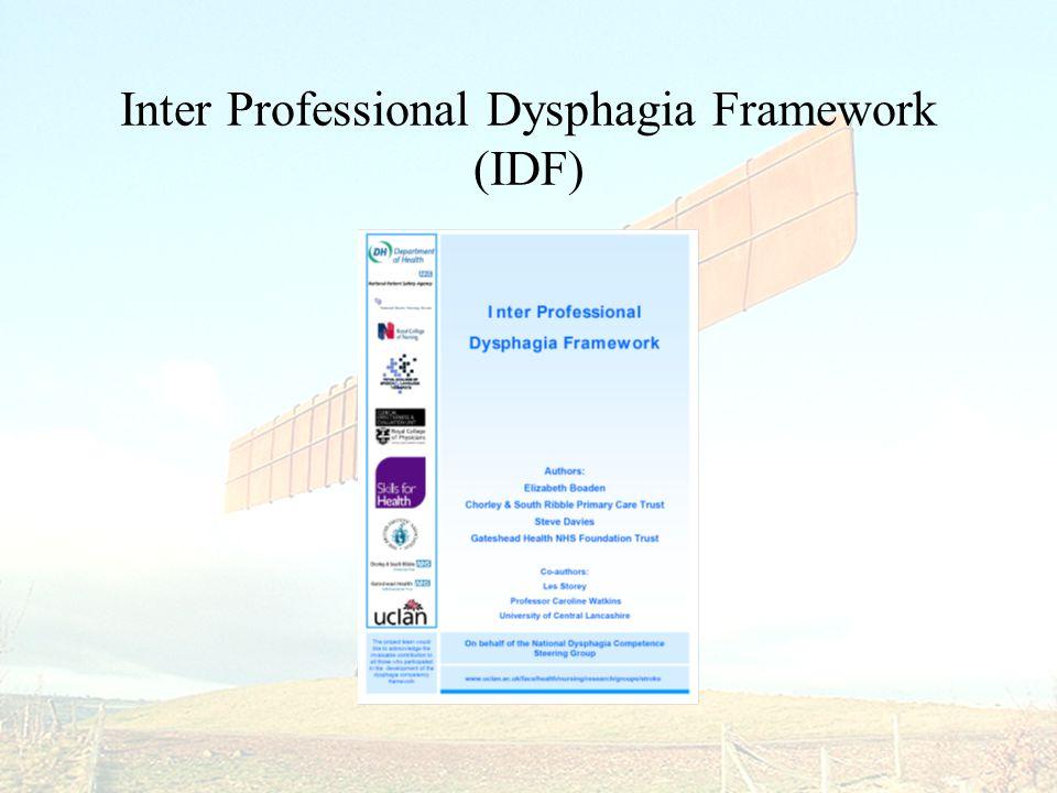 Inter Professional Dysphagia Framework (IDF)