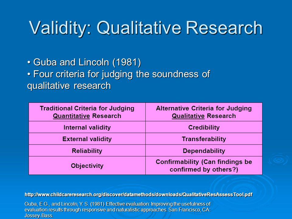 Qualitative vs. Quantitative.