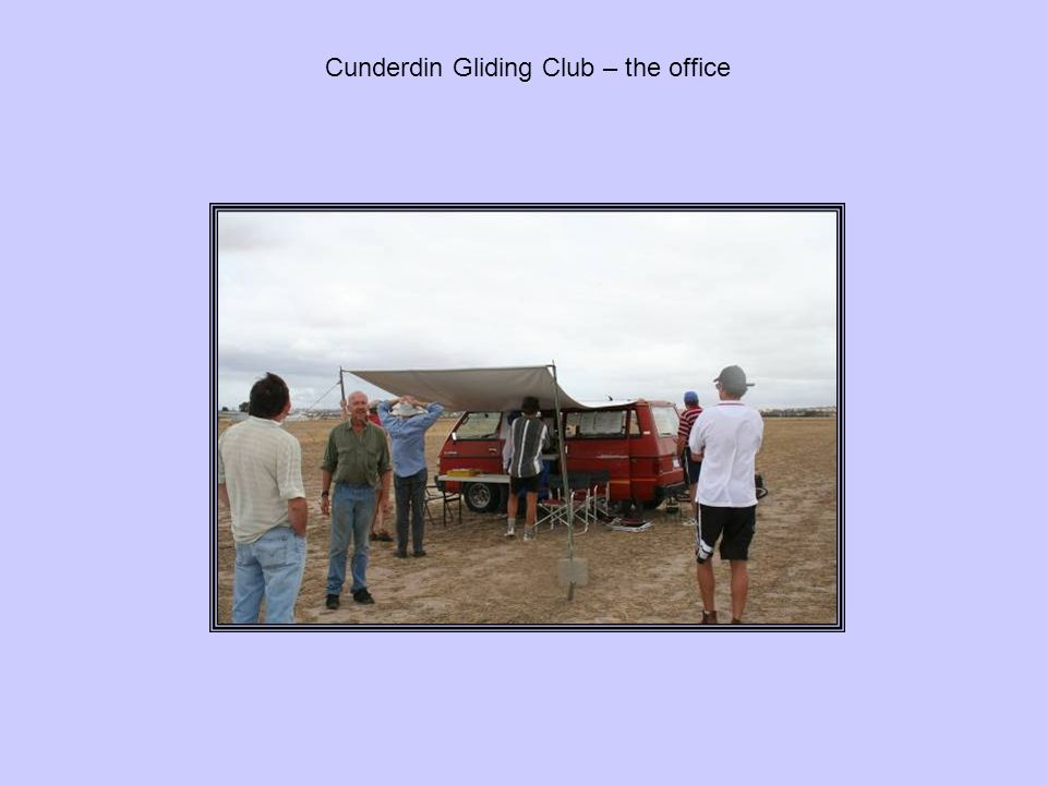 Cunderdin Gliding Club – the office