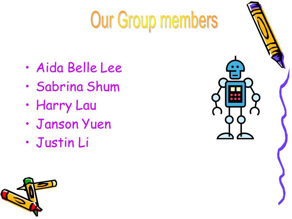 Aida Belle Lee Sabrina Shum Harry Lau Janson Yuen Justin Li