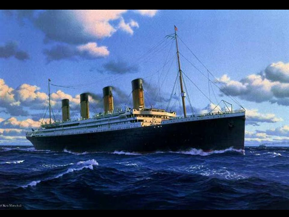 After leaving Southampton on 10 April 1912, Titanic called at Cherbourg in France and Queenstown (now Cobh) in Ireland before heading westwards toward