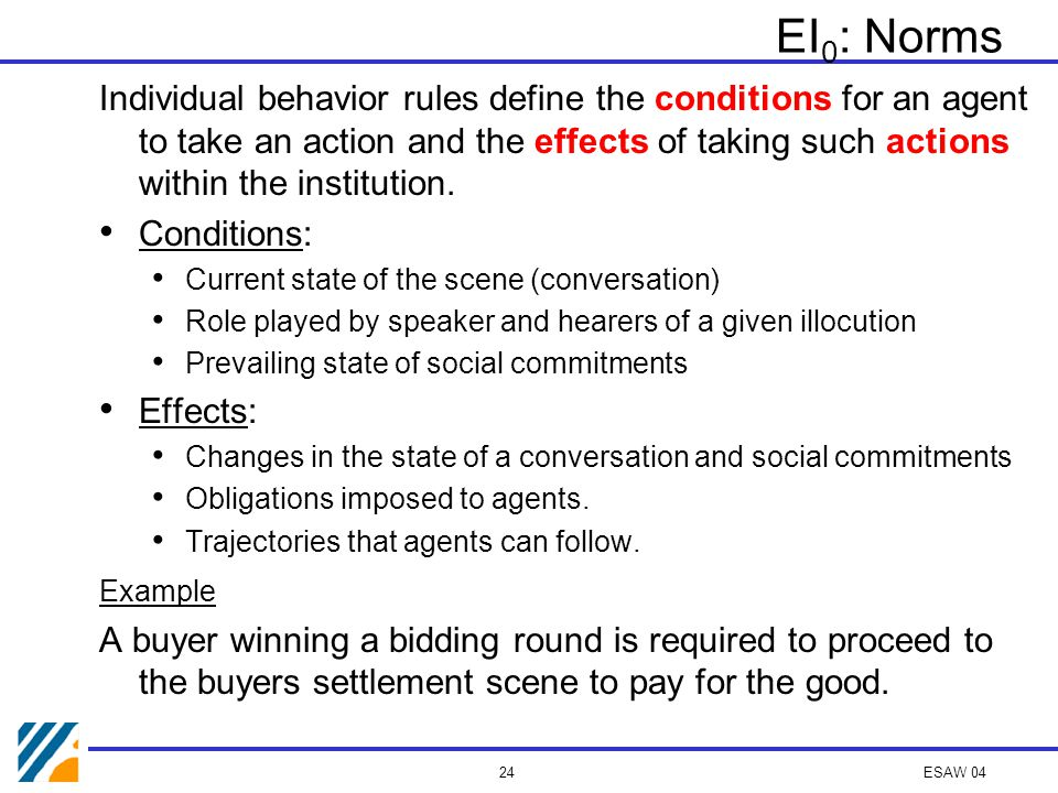 ESAW 04 23 Norms Social Committments Illocutionary meaning Individual Navigation