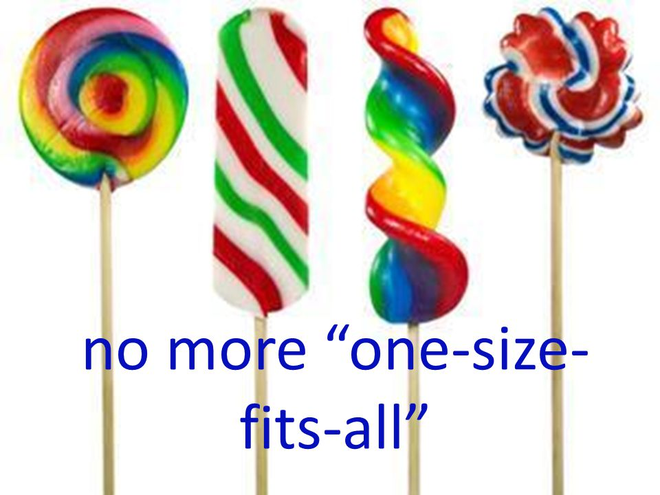 no more one-size- fits-all (c) Susan Daicoff, 2013.