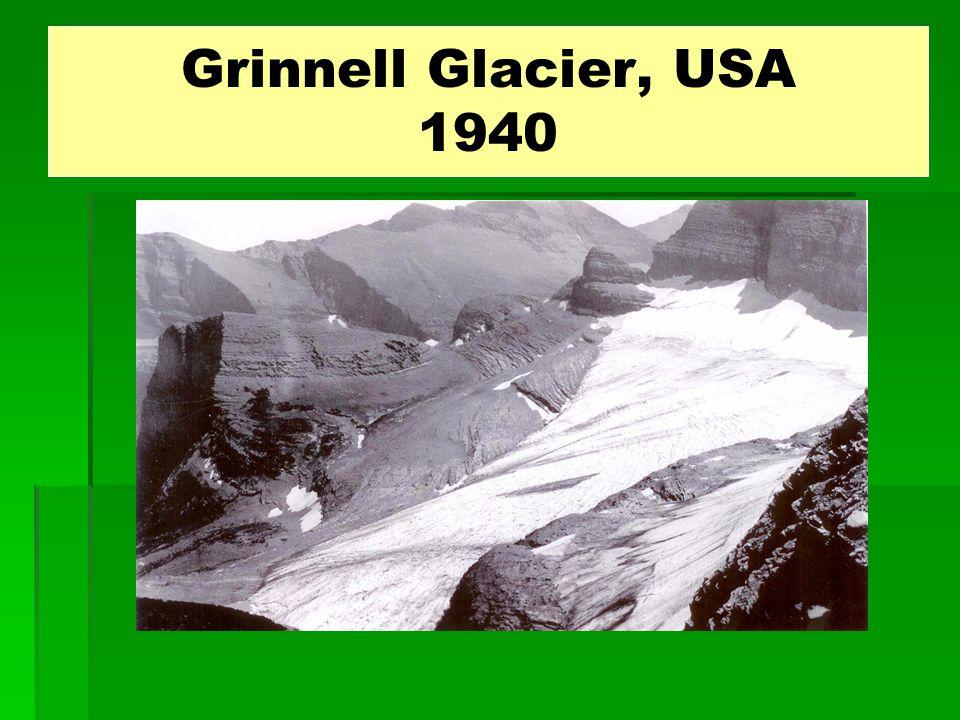 Grinnell Glacier, USA 1940