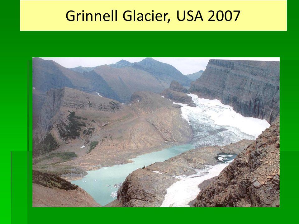 Grinnell Glacier, USA 2007