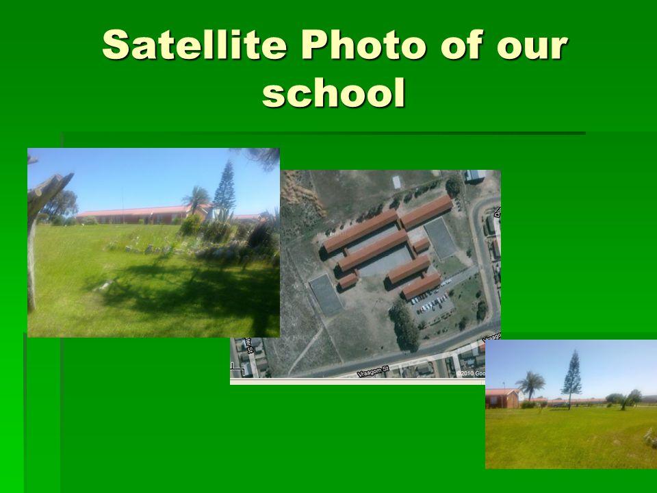 Satellite Photo of our school