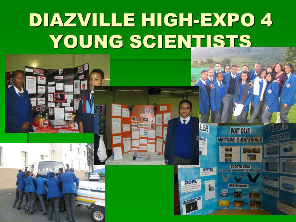 DIAZVILLE HIGH-EXPO 4 YOUNG SCIENTISTS