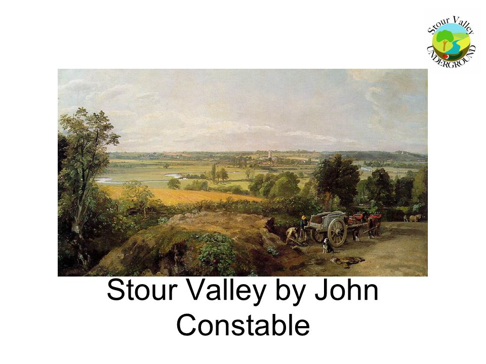 Stour Valley by John Constable