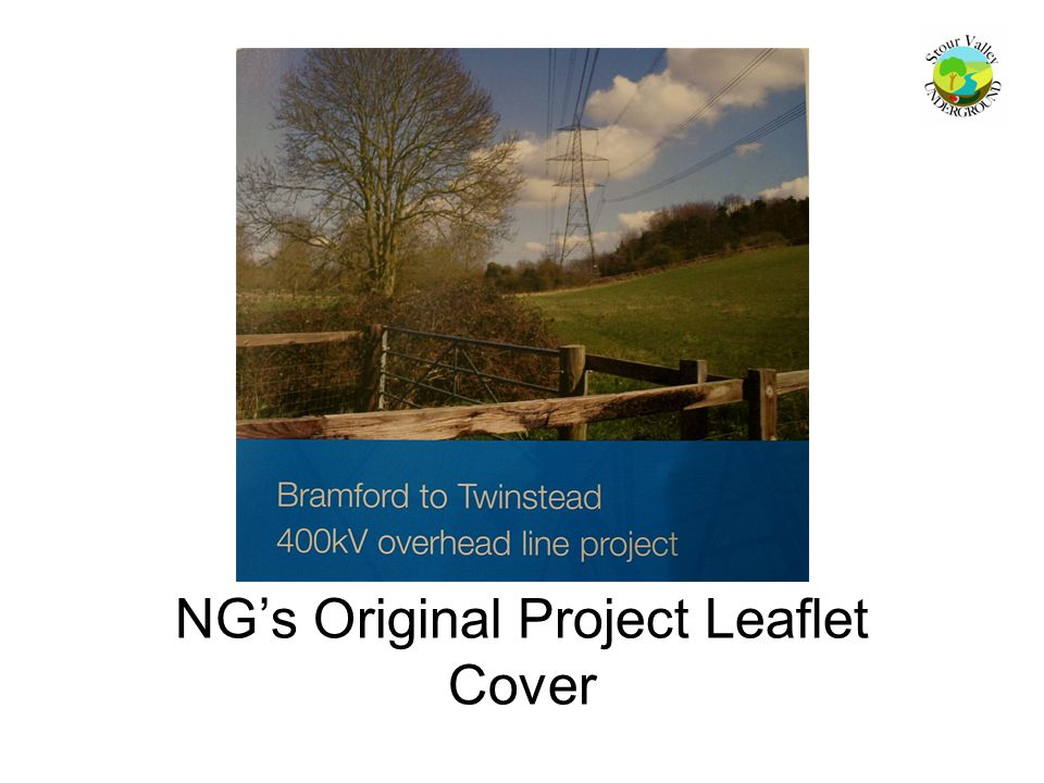 NG's Original Project Leaflet Cover