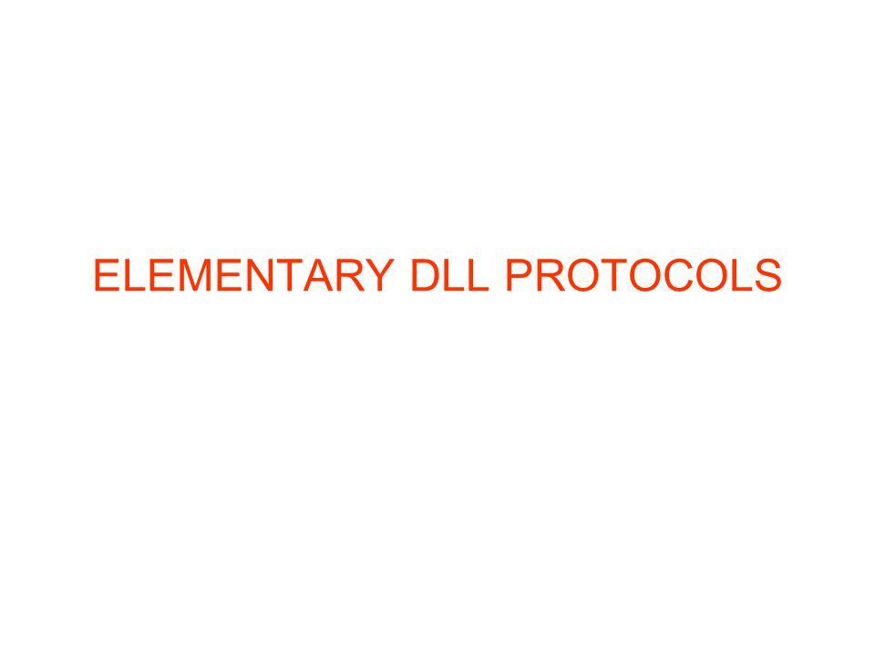 ELEMENTARY DLL PROTOCOLS