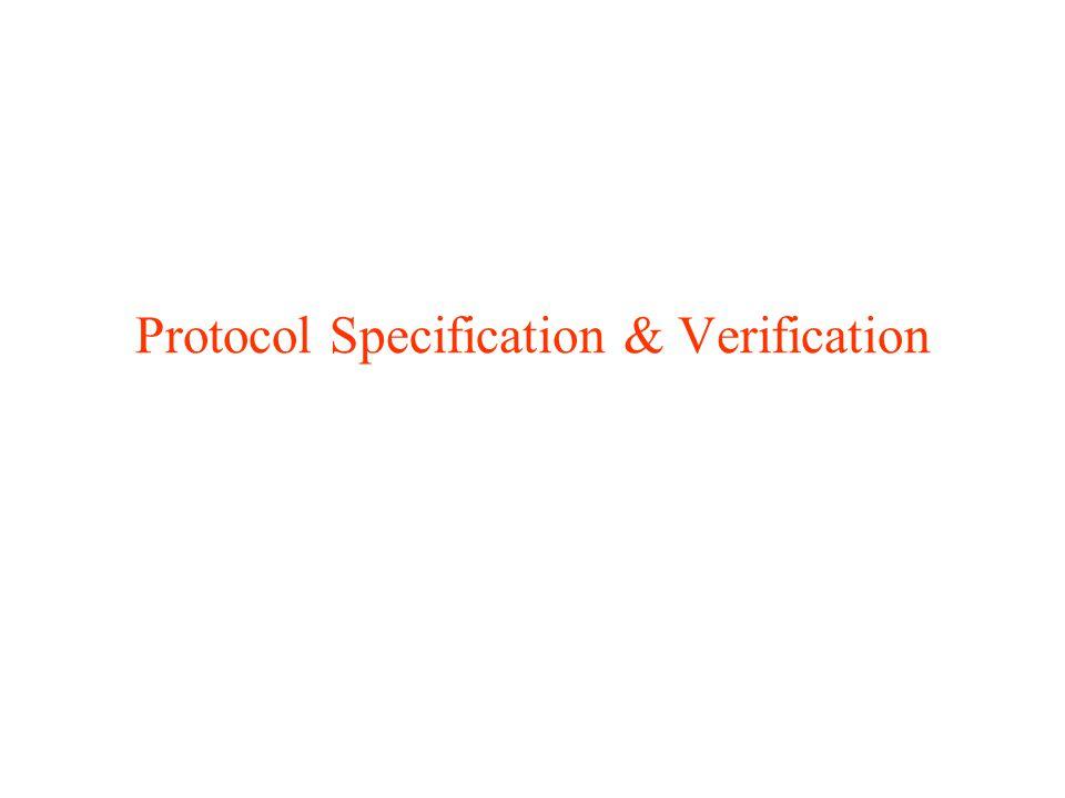 Protocol Specification & Verification