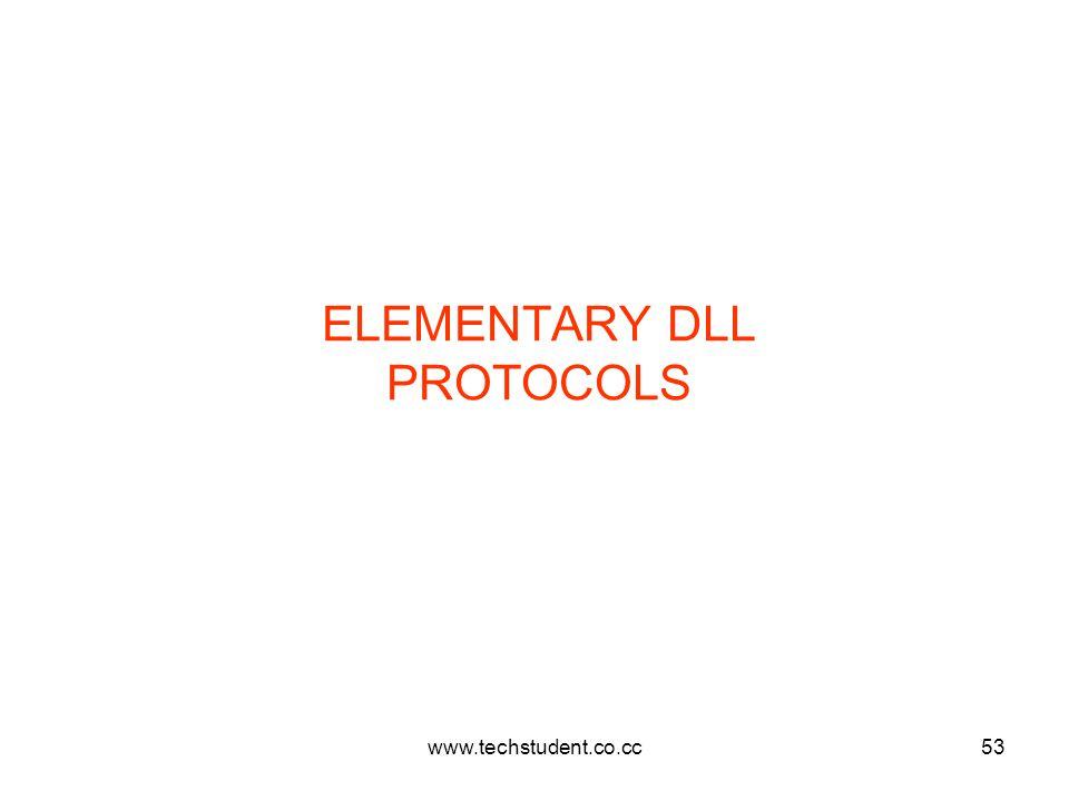 www.techstudent.co.cc53 ELEMENTARY DLL PROTOCOLS