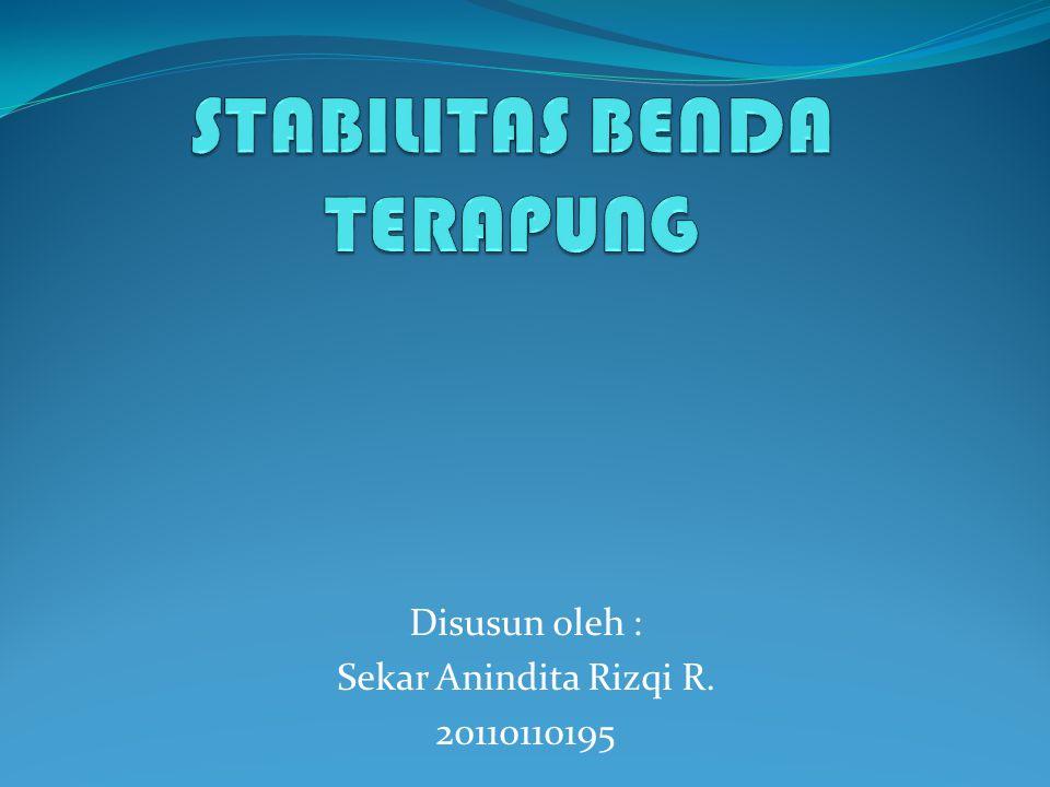 Disusun oleh : Sekar Anindita Rizqi R. 20110110195