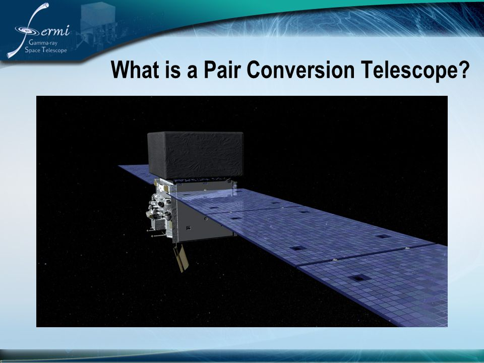What is a Pair Conversion Telescope?